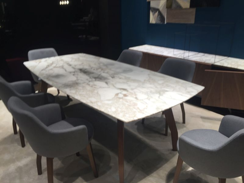 ... Rectangular dining table with round corners and marble & 99 Dining Room Tables That Make You Want A Makeover