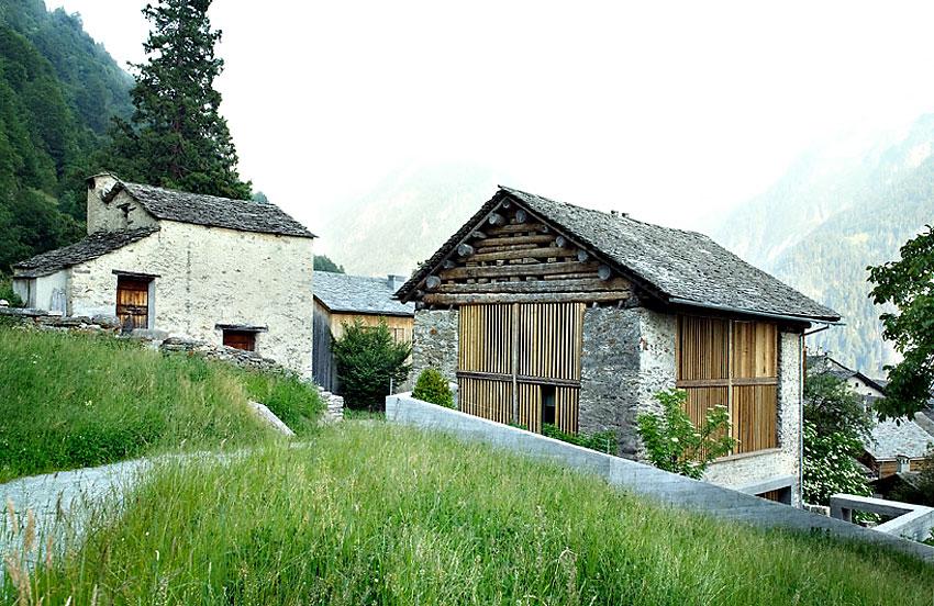 Redevelopment of a Barn in Soglio