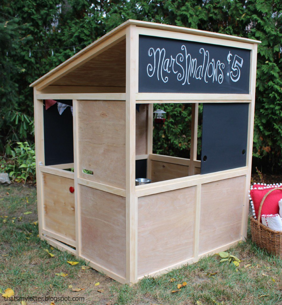 15 pimped out playhouses your kids need in the backyard for How to make a playhouse out of wood