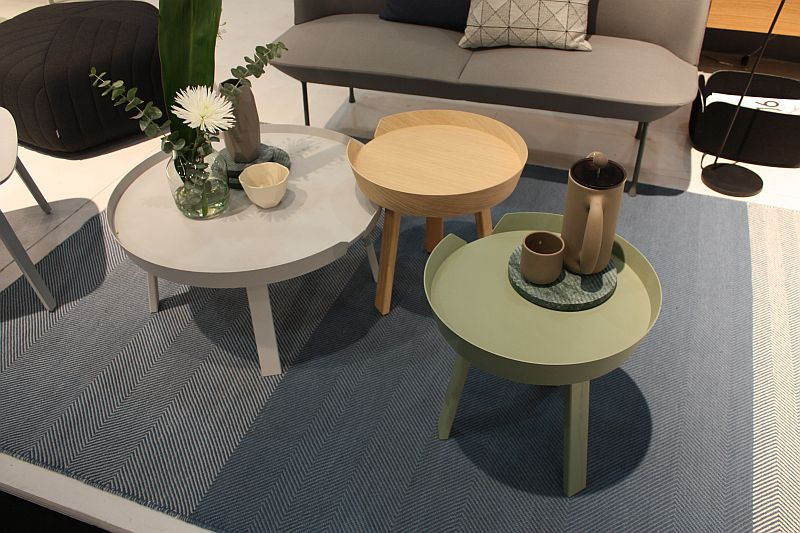 Round coffee table shape