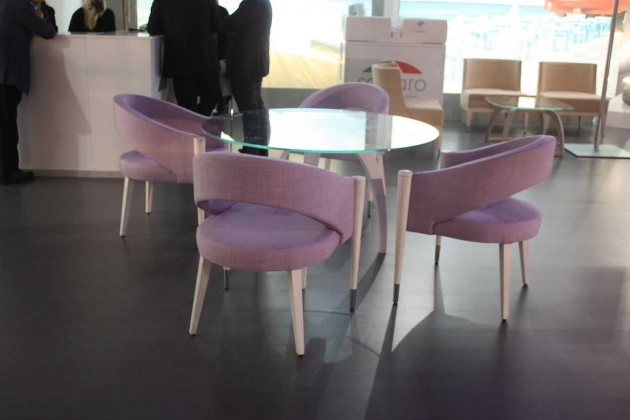 italian furniture company. This Outdoor Furniture Set Has Modern Chairs With An Attractive Curved Back In A Pretty Lavender Italian Company F