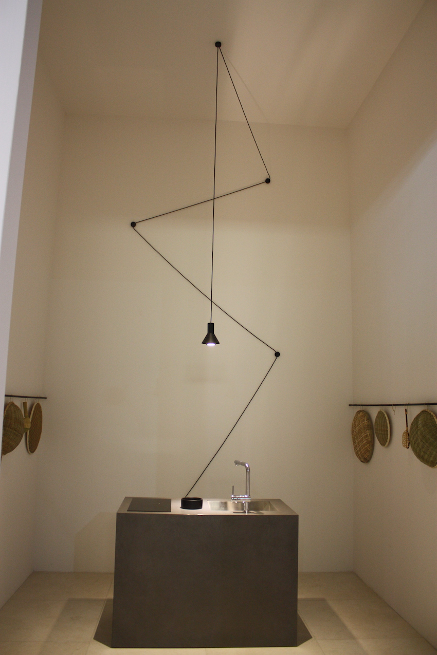 A small kitchen pendant lighting fixture becomes