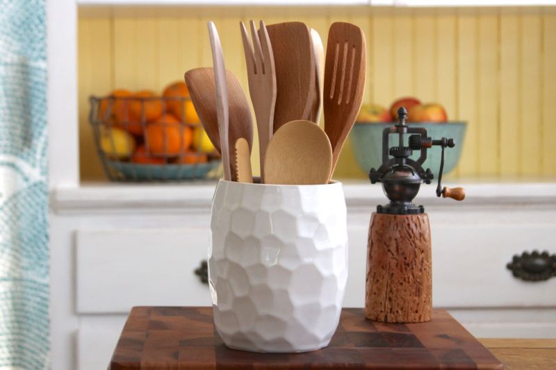 Store Utensils Stylishly At An Arm's Reach