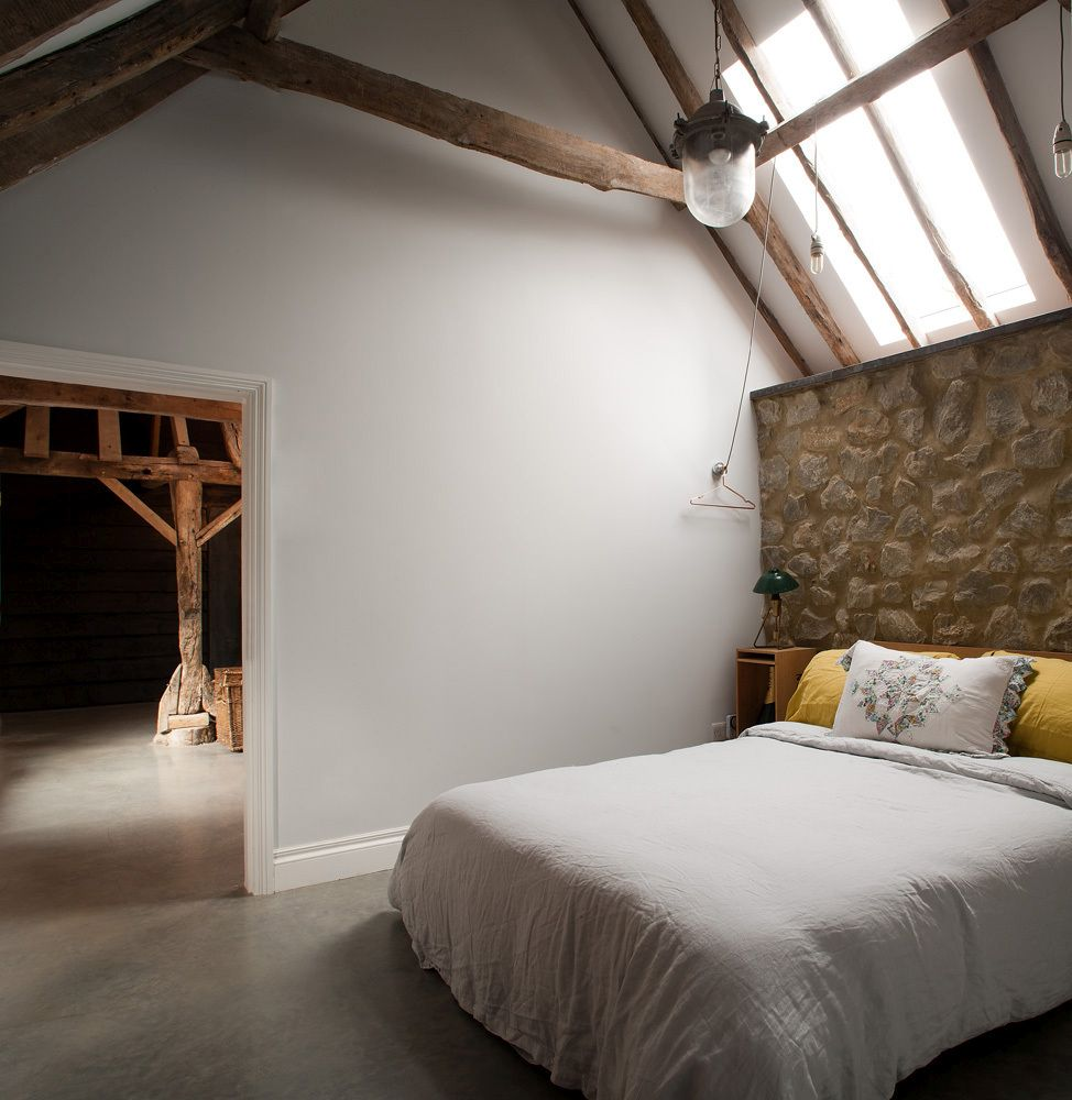 The Ancient Party Barn Bedroom