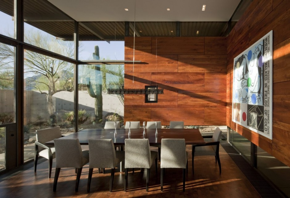 The Brown Residence Architecture Dining Area