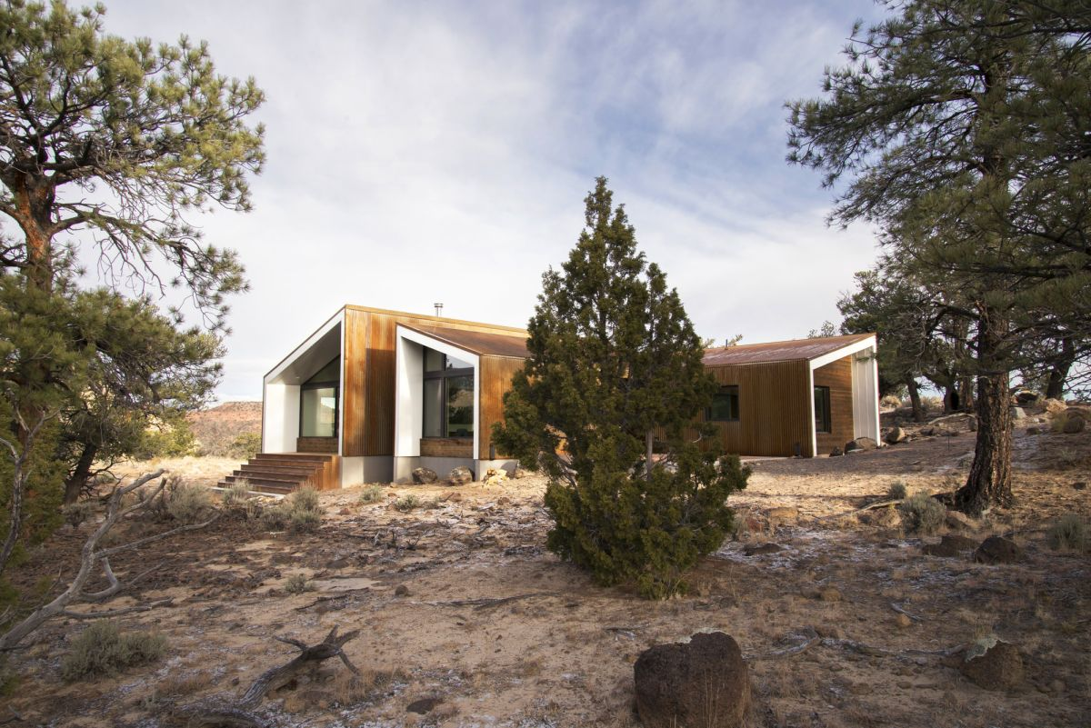 The Capitol Reef Desert Dwelling angle