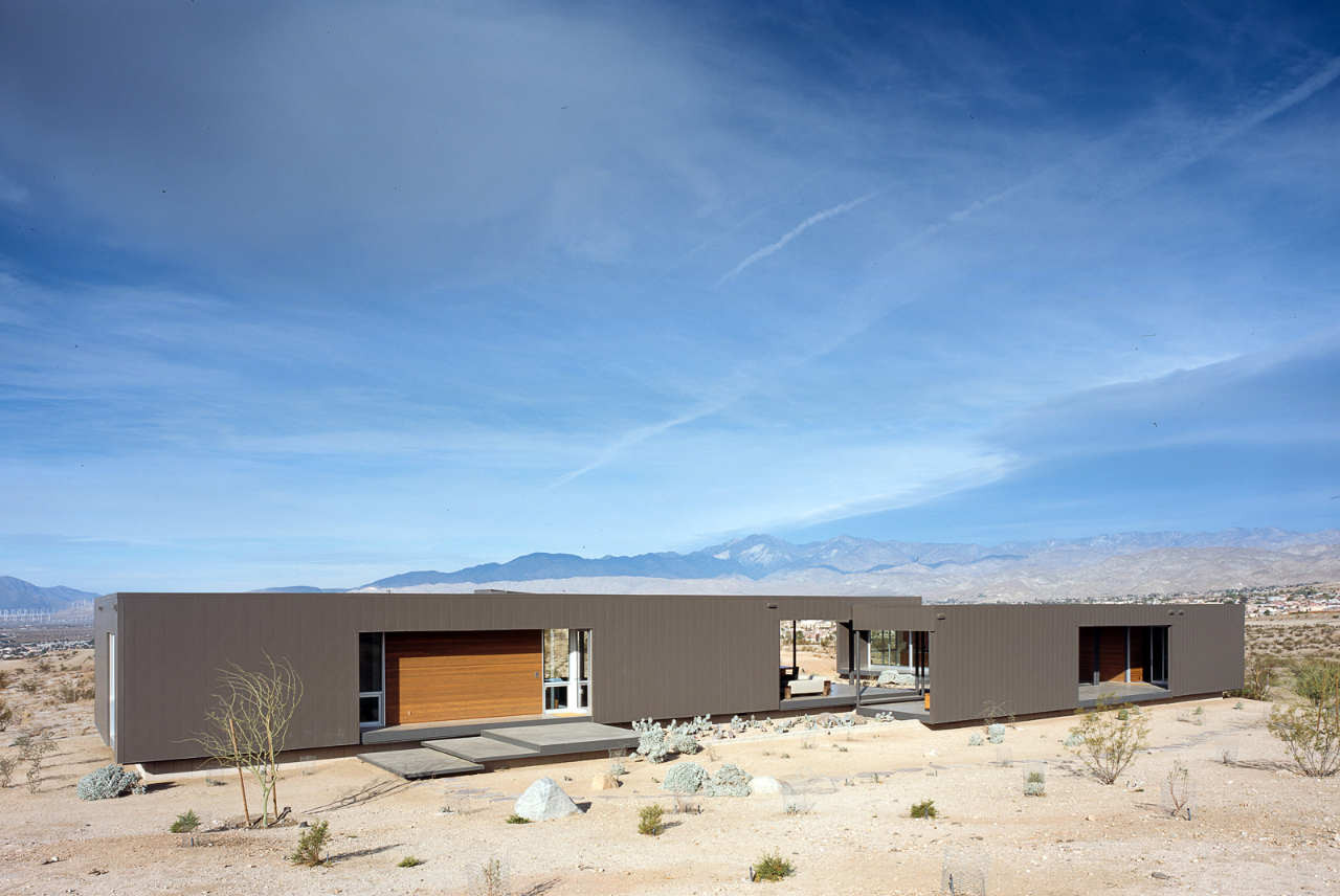 The Desert House Architecture