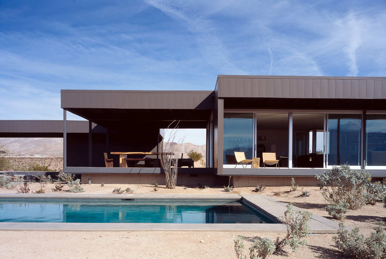 The Desert House Architecture decor