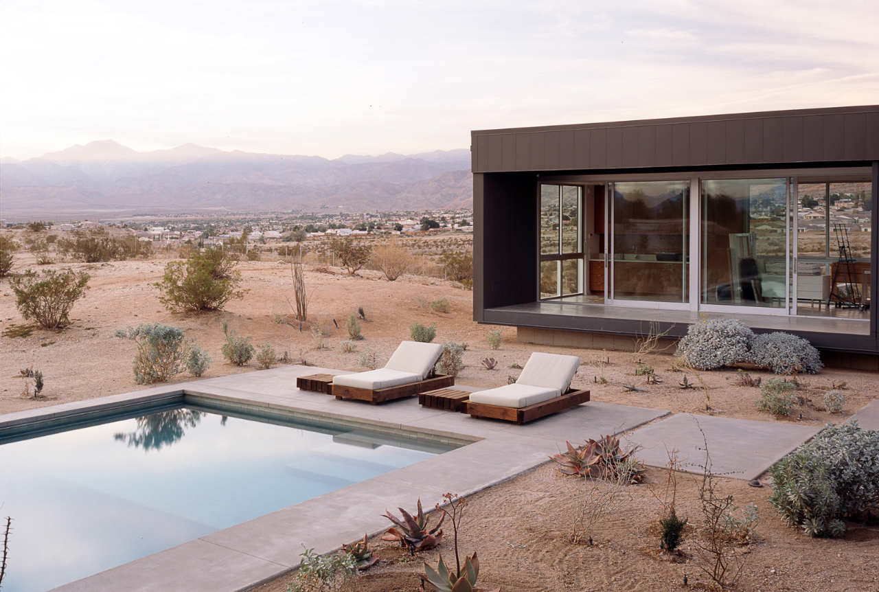 The Desert House Architecture Pool