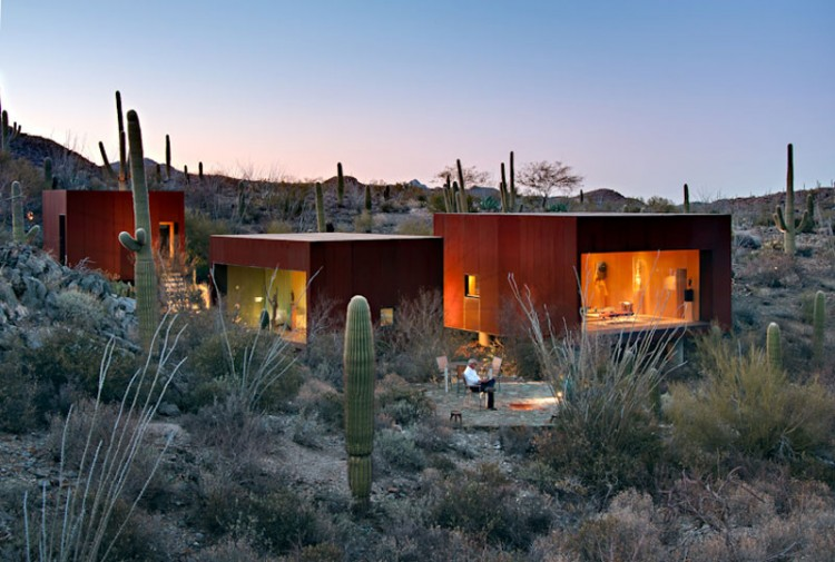 The Desert Nomad House Architecture