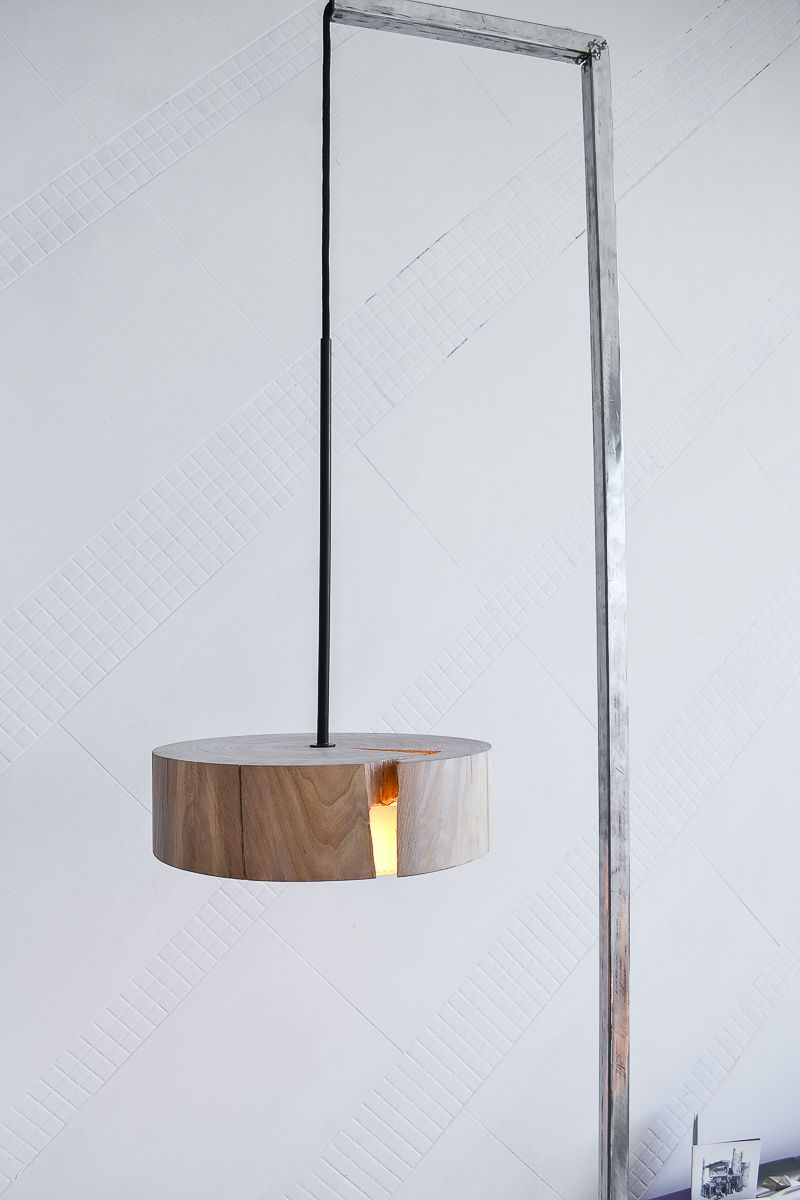 The Split lamp by Christoph Steiger