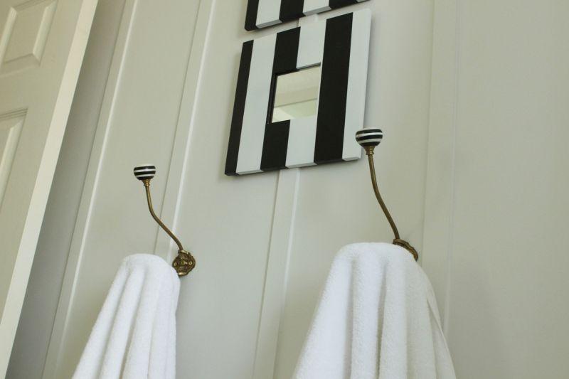 Towels hangers DIY