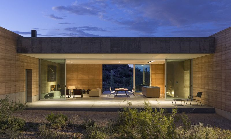 Tucson Mountain Retreat, Location: Tucson AZ, Architect: DUST