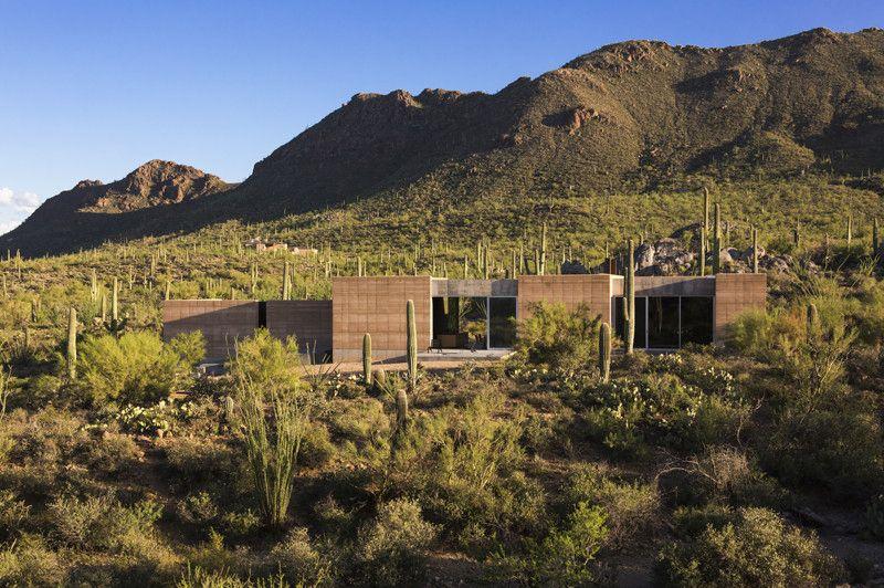 Tucson Mountain Retreat, Location: Tucson AZ, Architect: DUST