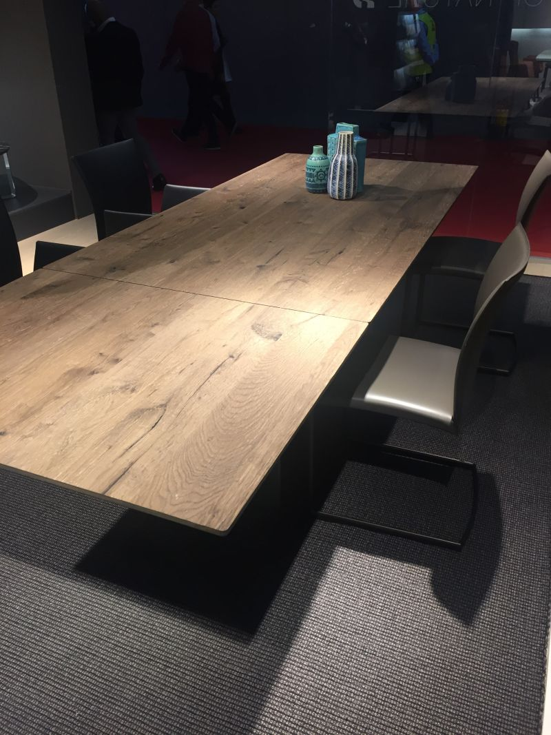 Unfinished wood table