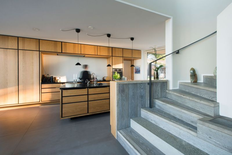 Villa U in Denmark kitchen