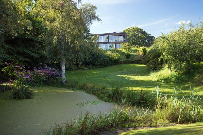 Villa U in Denmark lush surroundings
