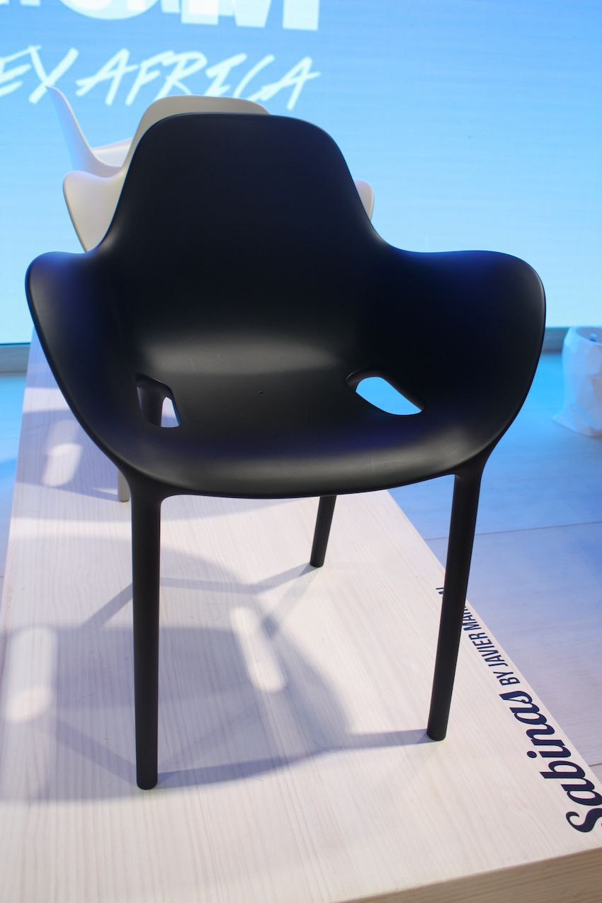 "Vondom sells pieces from designers around the globe that help transform any space into one with a unique ambiance. For fans of modern and edgy furniture and accessories, Vondom is the go-to company. This Sabinas Chair has a fluid shape that ""hints at sand dunes, at female curves."""