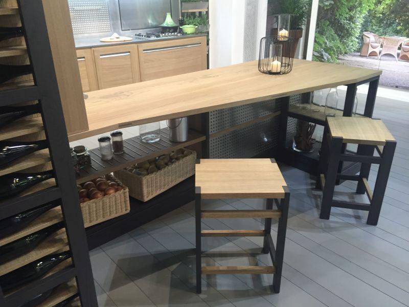 Wood Countertop Kitchen Island Table