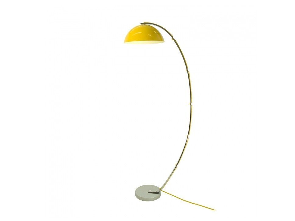 yellow london arc floor lamp - Arc Floor Lamps