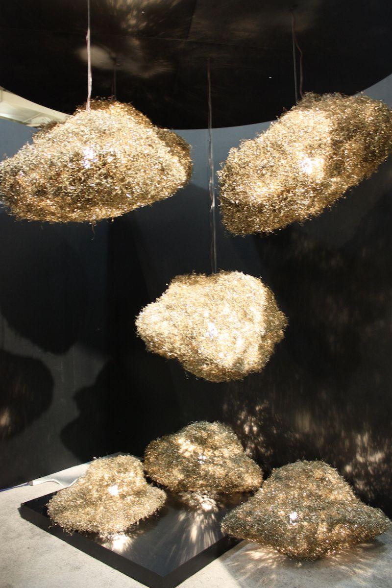 Zarate Manila aus Metall Späne Beleuchtung gemacht