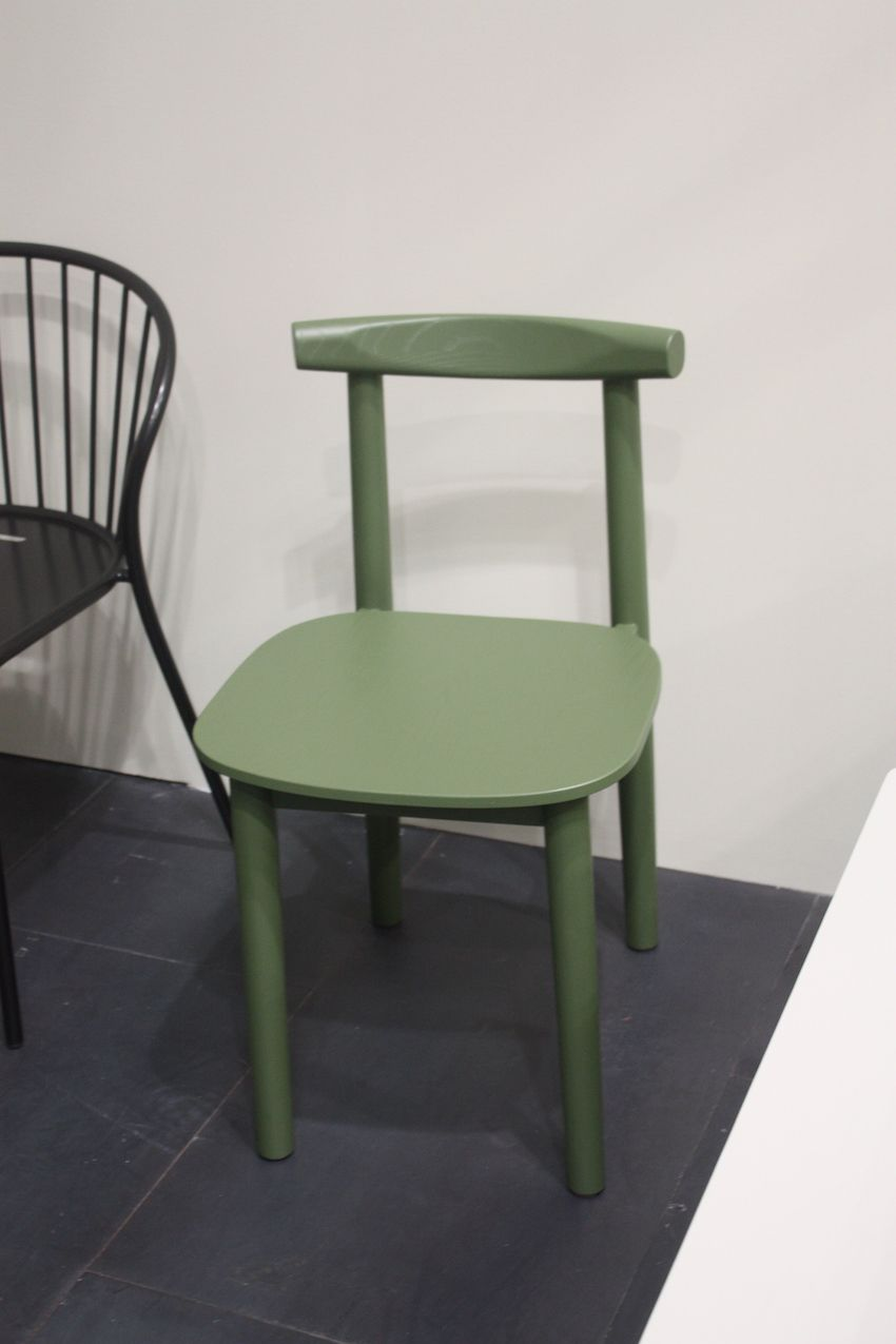 Clean lined and basic, this chair from Atipico is a perfect family dining chair.