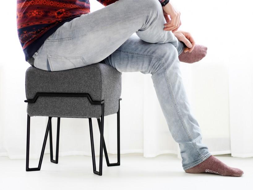 bokk felt stool