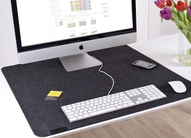felt desk pad