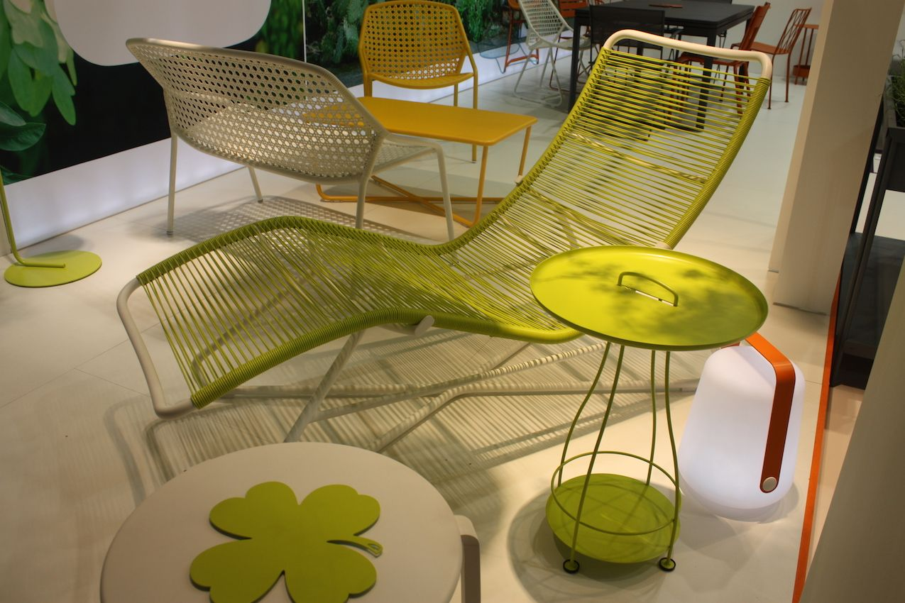 type of furniture design. Every Backyard Needs A Lounger And This Citrus Colored Design From Fermob Is Stunning Piece Type Of Furniture