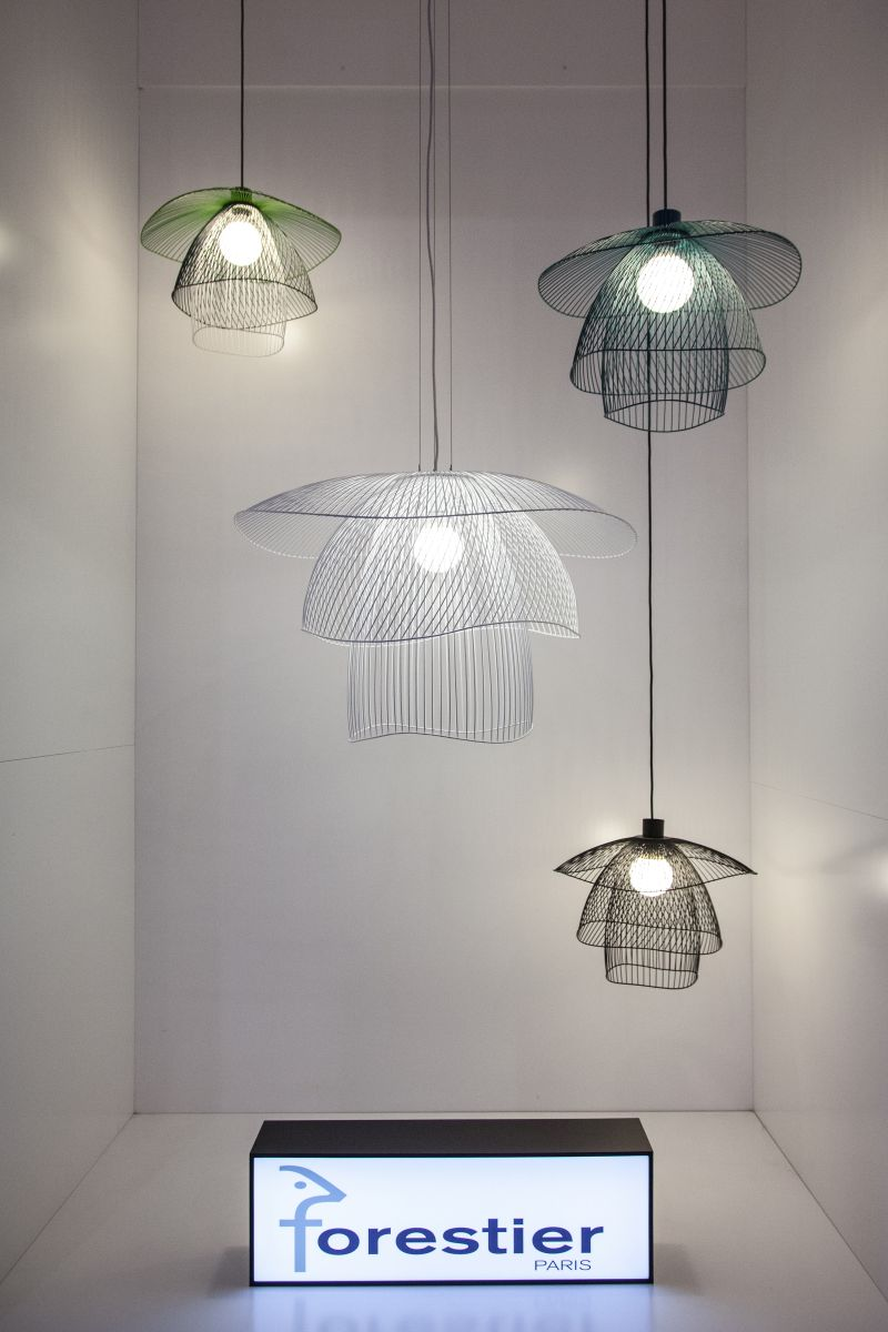 forestier wire hanging lighting