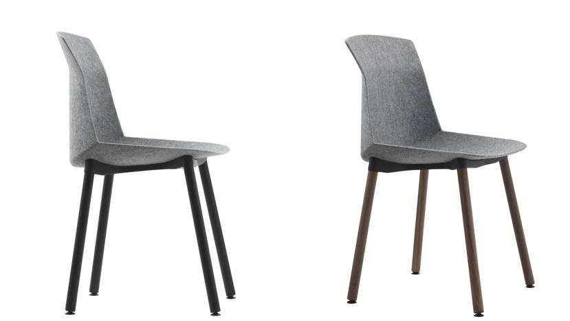 Superb Modern Felt Chair Design