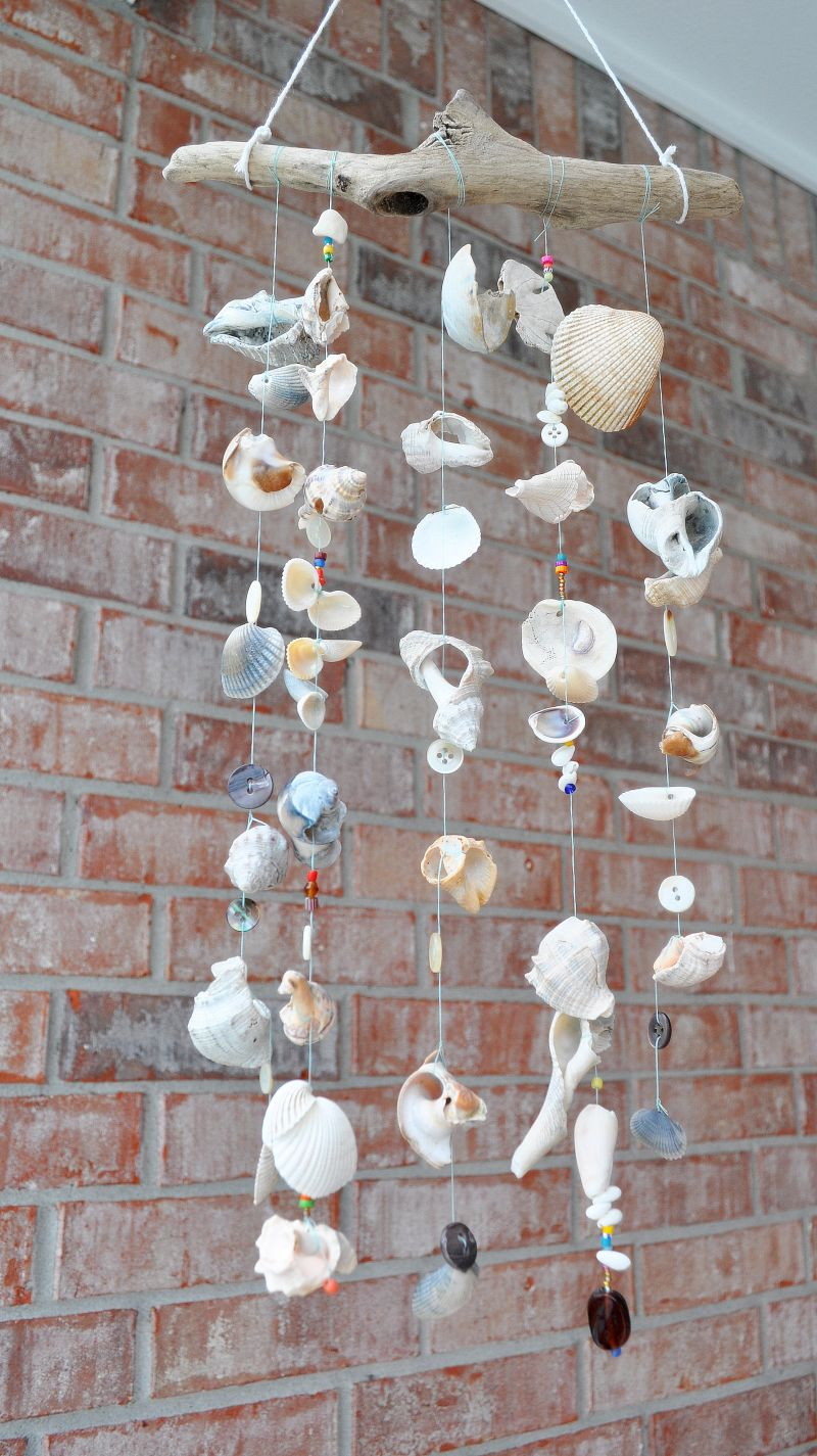 seashell windchimes