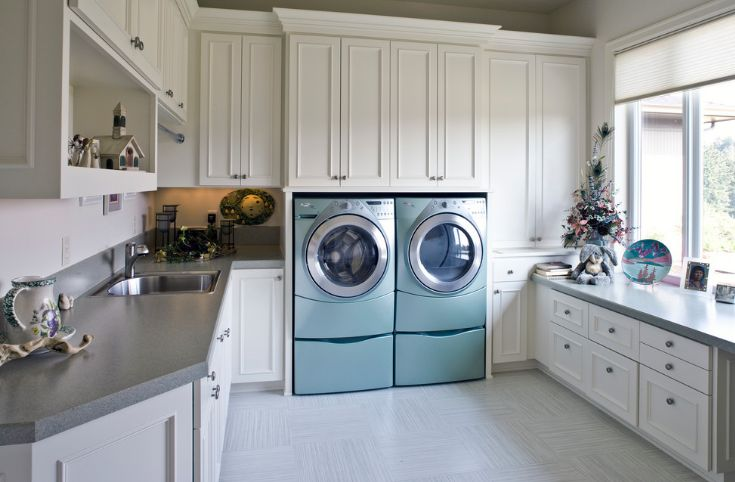 turquoise laundry washing machines