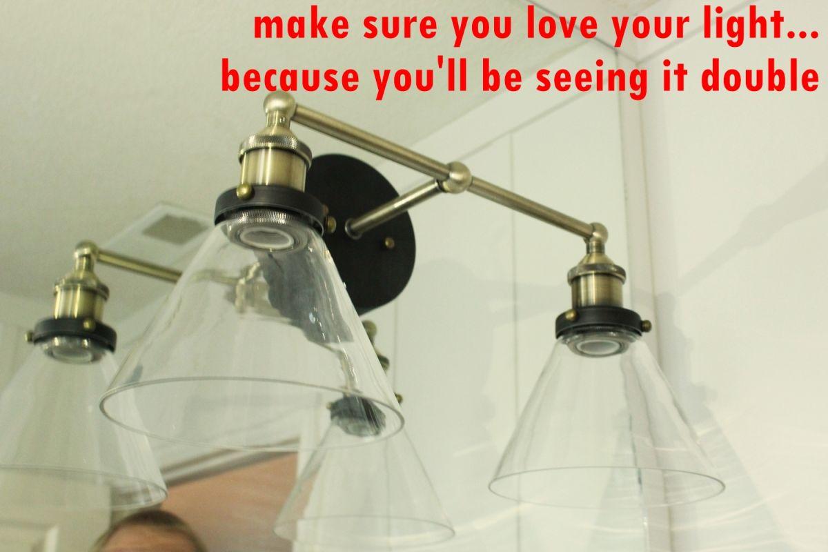 twice your lighting fixture