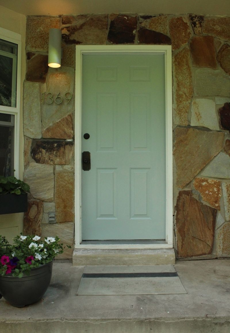 Admire your new painted door