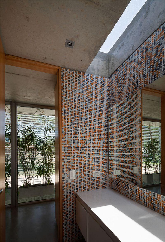 Alamos House bathroom mosaic
