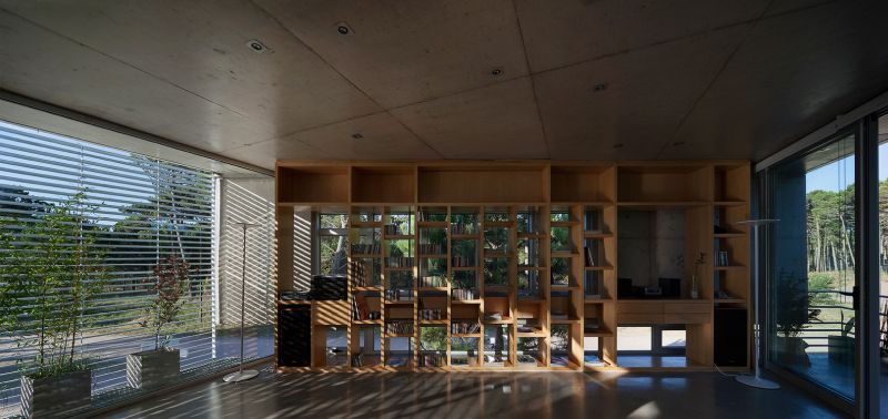 Alamos House living space