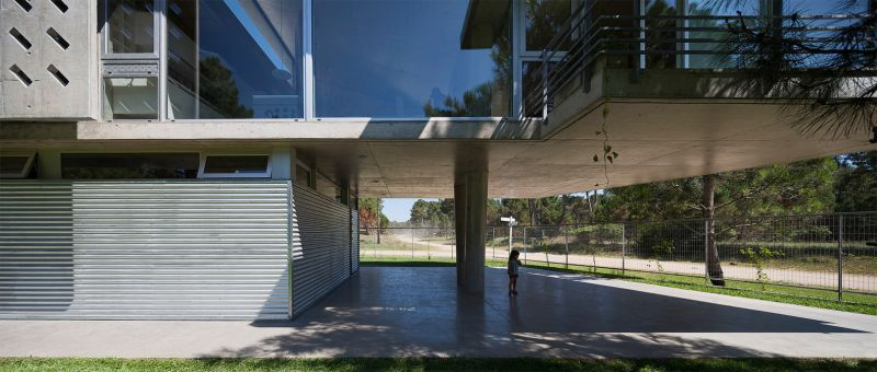 Alamos House suspended ground floor