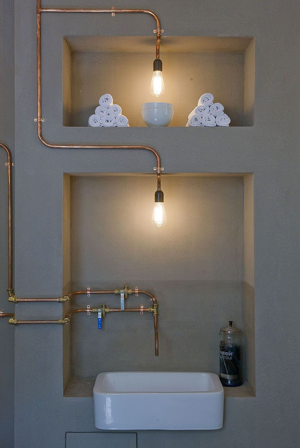 Barber Shops Around The World Reveal Their Understated Luxury House Wiring Metal Conduit Amsterdam Shop By Ard Hoksbergen Copper Pipes