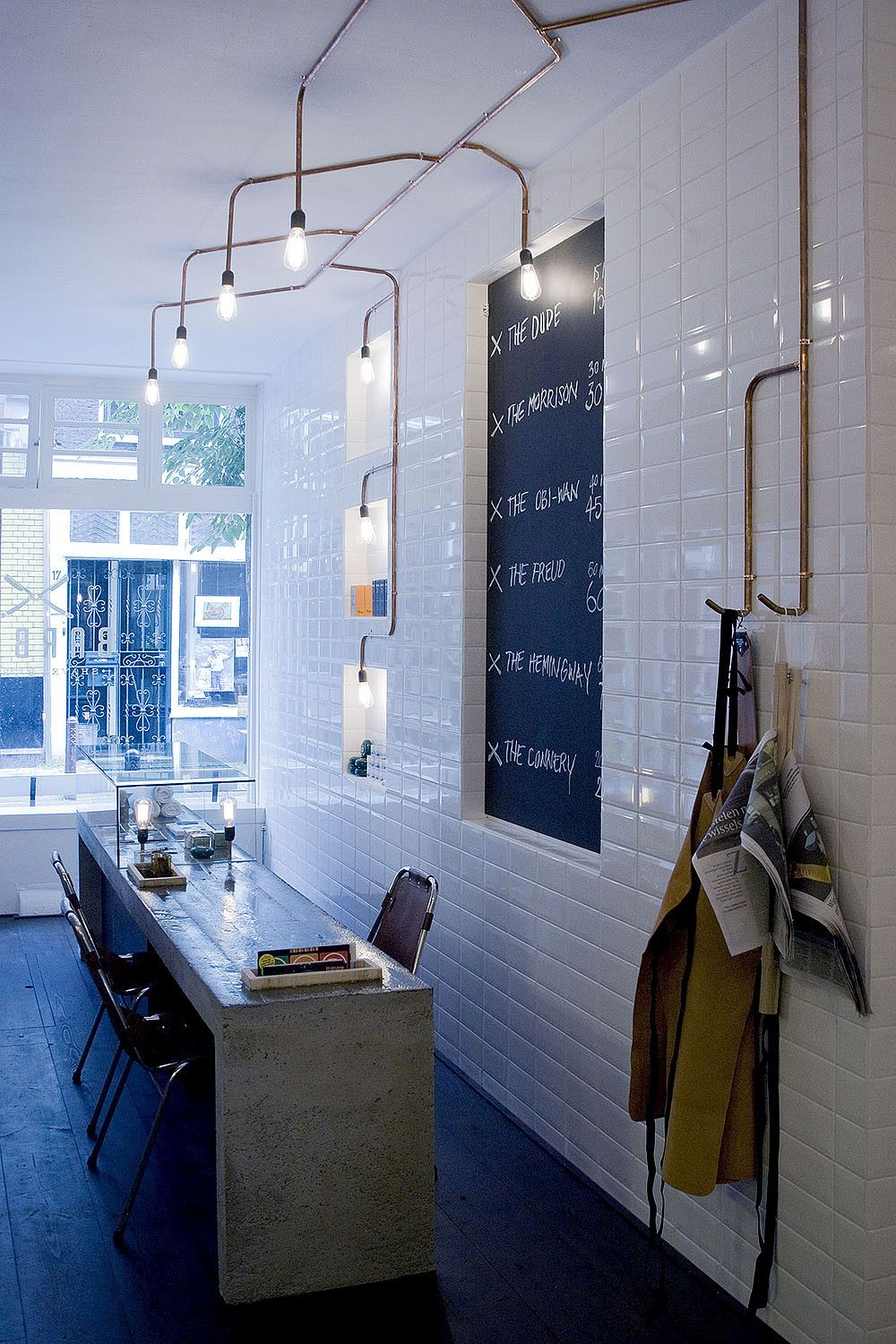 Amsterdam Barber Shop by Ard Hoksbergen Countertop