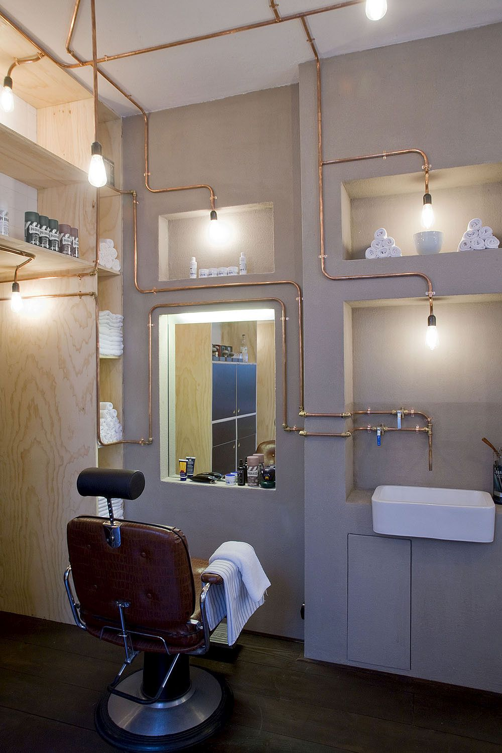 Amsterdam Barber Shop by Ard Hoksbergen