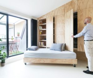 Apartments With Movable Walls Inspire Through Flexibility on