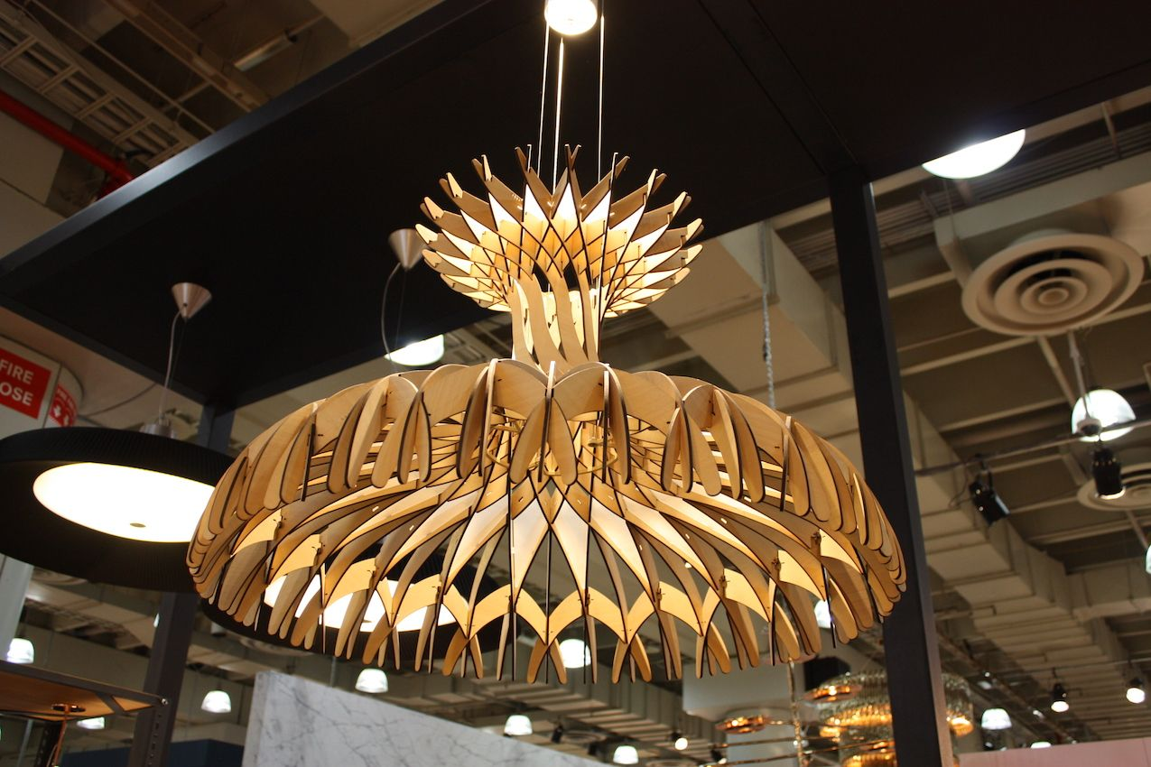 Laser Cut Wood Chandelier Chandelier Designs