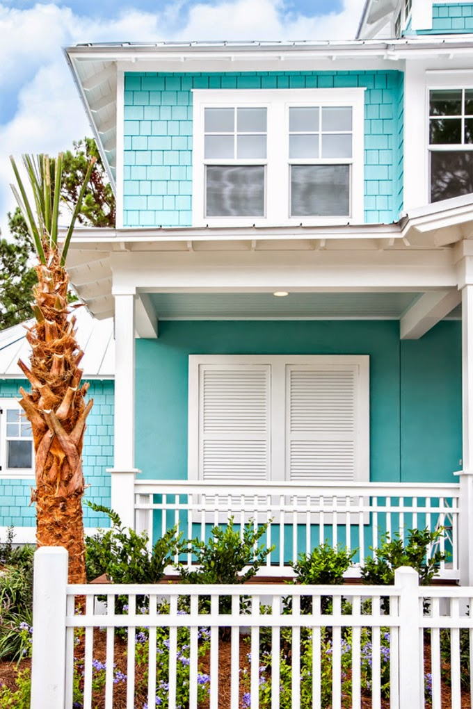 10 bold colors to paint your home 39 s exterior for Colores bonitos para pintar mi casa
