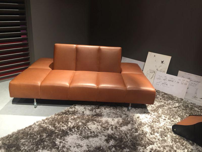 Brown leather furniture