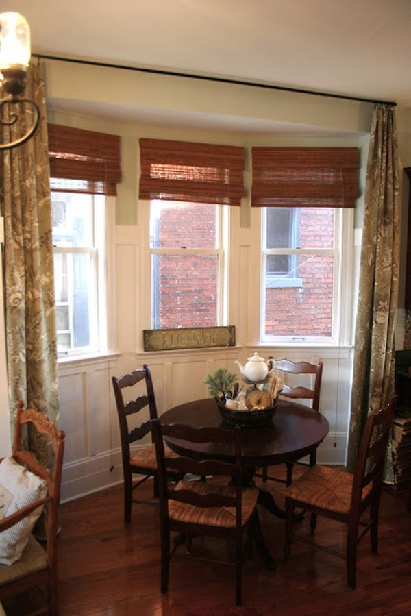CURTAIN PANELS FOR MY BREAKFAST NOOK