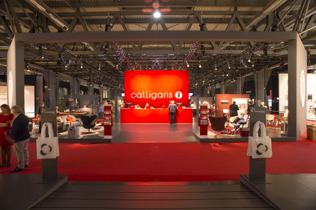 Calligaris Booth Design from iSaloni 2016