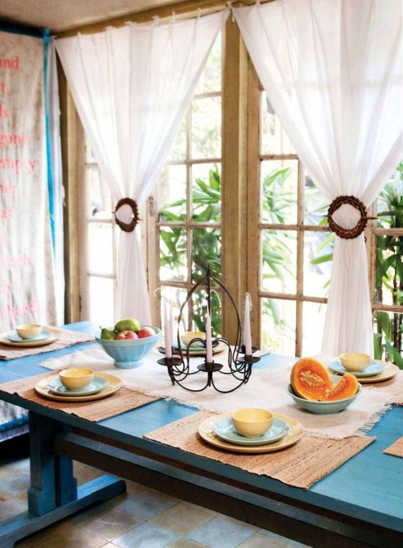 Window Curtain Design Ideas: These 20 Kitchen Curtains Will Lighten, Brighten And