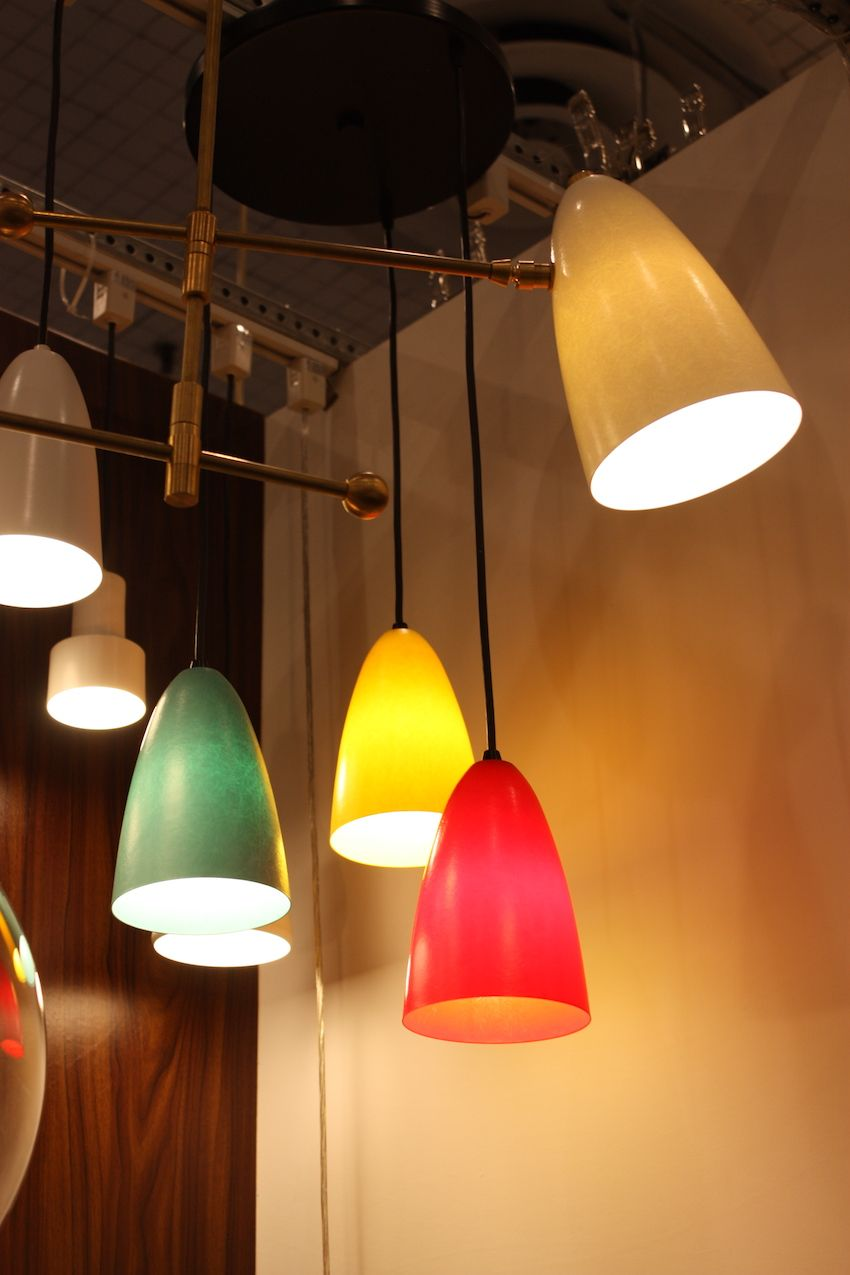 Hip Haven came to fame for its Retro Bullet Planters, and has now added these bullet pendant lights, available in a wide range of colors. The Austin, Texas-based Hip Haven, Inc., led by designer Kelley Sanding, launched online in 2002.