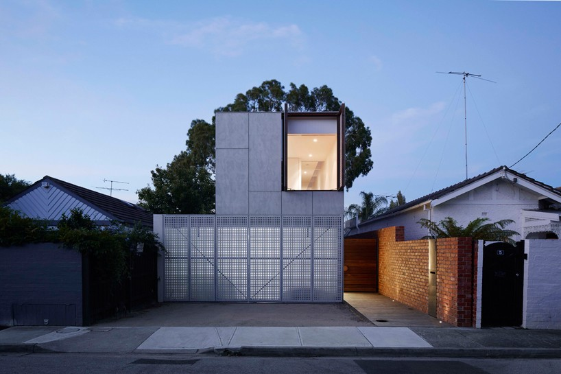 Concrete melbourne home